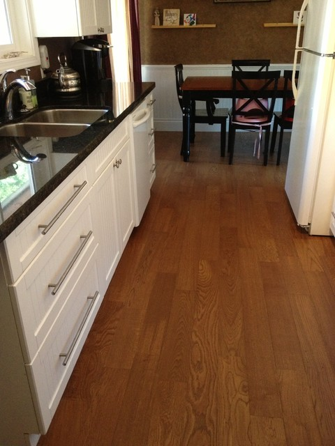 Kitchen With Kahrs Hardwood Traditional Vancouver By