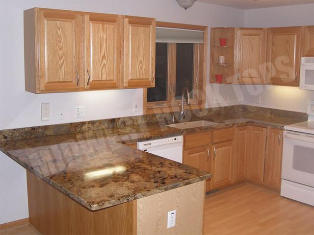 Kitchens With Lapidus Granite Countertops : Kitchen with lapidus granite other metro by