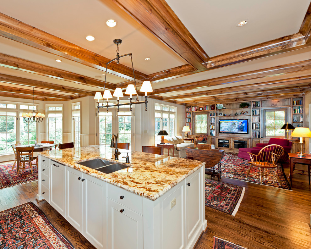 Kitchen With Natural Materials Rustic Kitchen Charlotte By Andrew Roby General Contractor