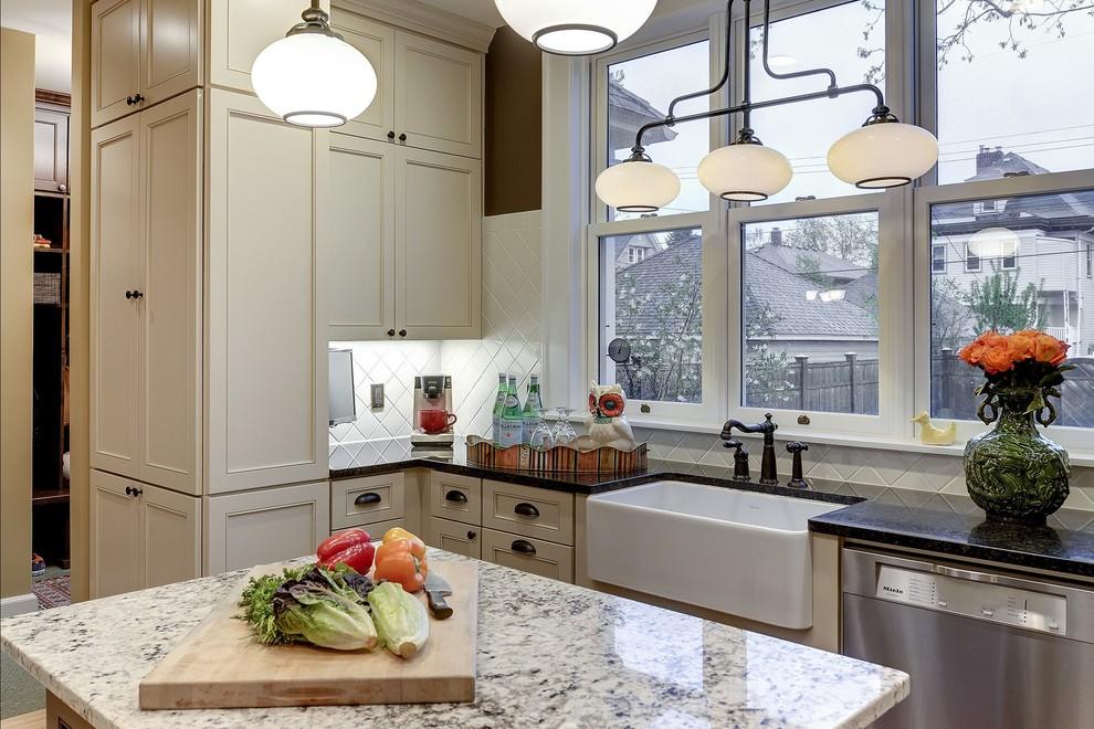 Kitchen with Unique Storage - Transitional - Kitchen ...