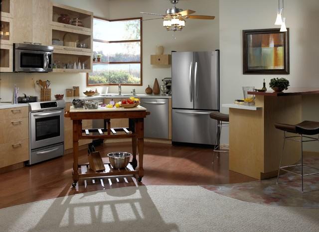KitchenAid Appliances farmhouse-kitchen