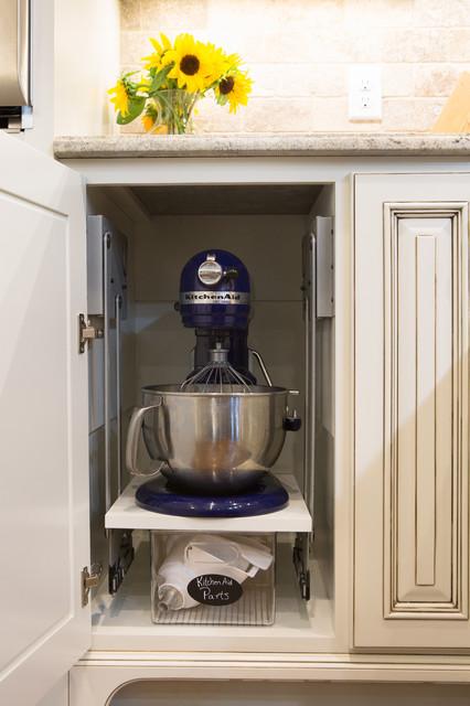 Kitchenaid Mixer Storage Idea