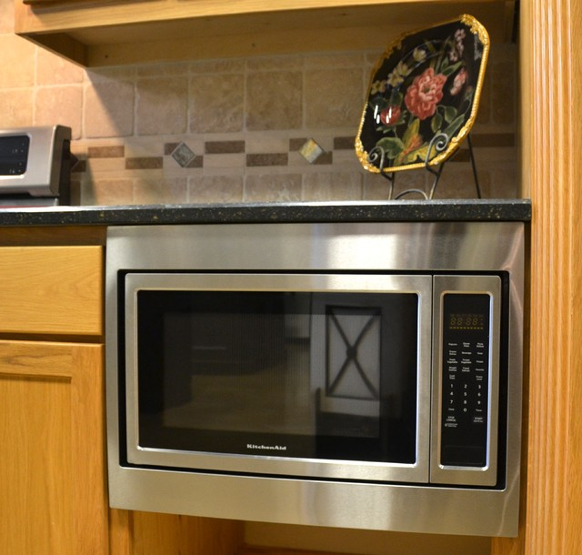 Countertop Microwave Uk : KitchenAide Countertop Microwave transitional-kitchen