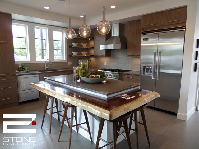 kitchens contemporary kitchen calgary by 2stone designer
