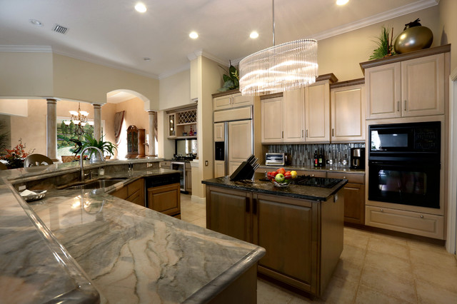 Kitchens tropical kitchen orlando by a d s designs - Tropical kitchen design ...