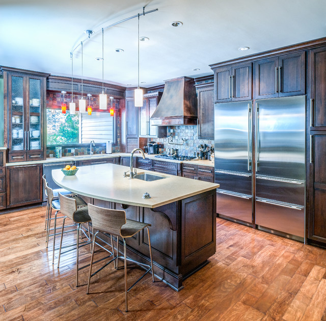 Kitchens Eclectic Kitchen Indianapolis By Adam Gibson Design