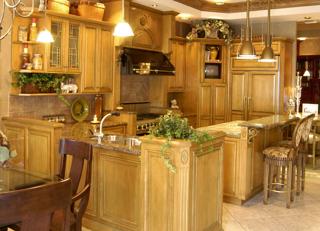 Kitchens by heartwood corp traditional kitchen new york by