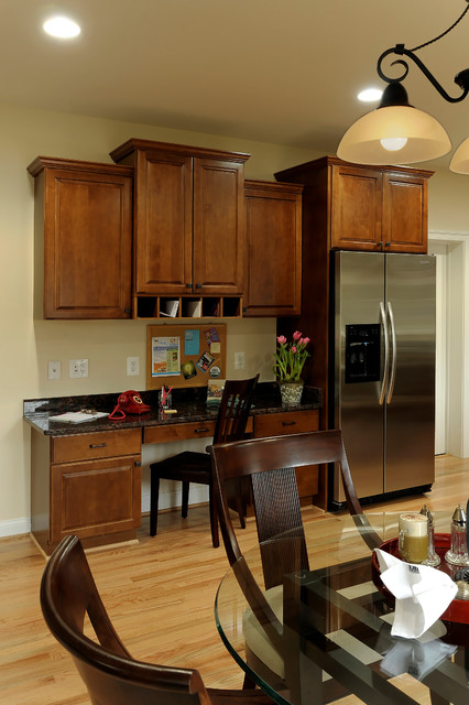 Kitchens by Meridian Homes Inc. traditional-kitchen