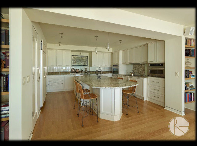 Kitchens by regina garcia design transitional kitchen for Kitchen cabinets regina
