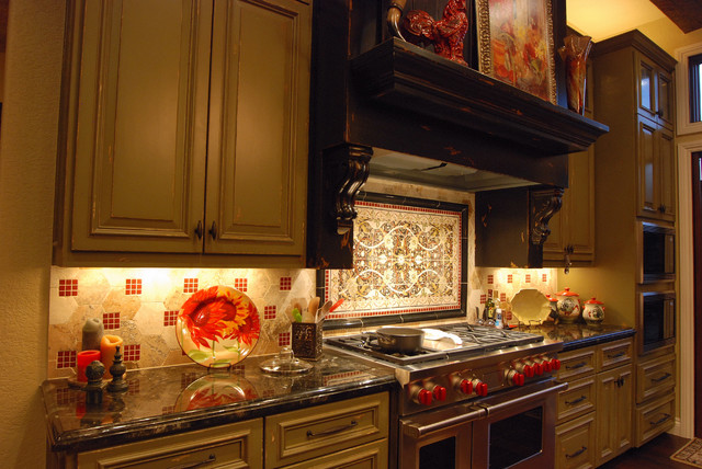 Kitchens by Stadler Custom Homes mediterranean-kitchen