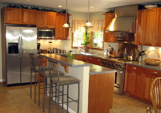 Kitchens by The Woodlands Home Remodeling traditional-kitchen
