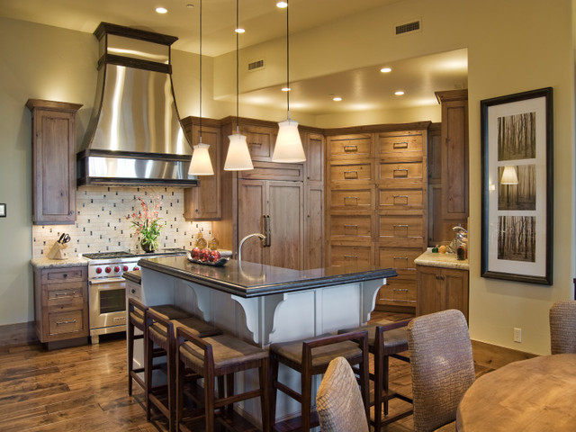 Kitchens by Utah Home Builder, Cameo Homes Inc. traditional-kitchen