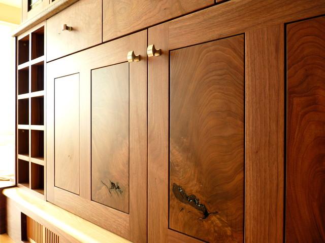Kitchens for Black walnut kitchen cabinets