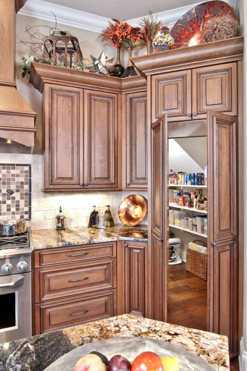 Love hidden pantry for Hidden pantry doors
