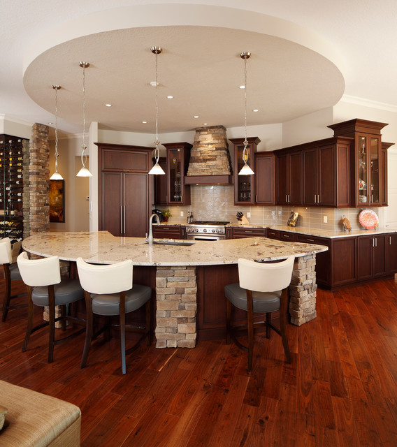 Kitchens - Transitional - Kitchen - Orlando - by Christopher Burton Homes, Inc.