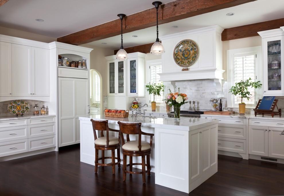 厨房美式风格效果图大全2017图片_土拨鼠简洁温馨厨房美式风格装修设计效果图欣赏