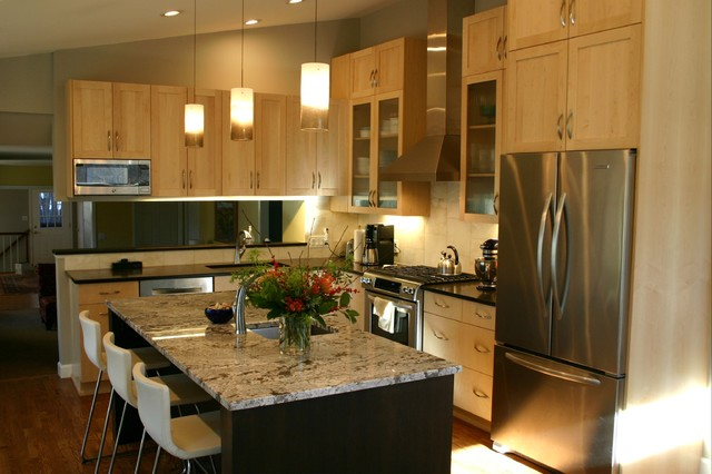 Kitchens Contemporary Kitchen Denver By Dovetail Design Construction Inc