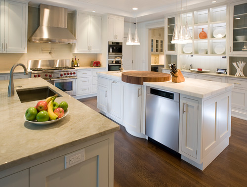 Traditional Kitchen By Calverton Kitchen U0026 Bath Designers East End Country  Kitchens