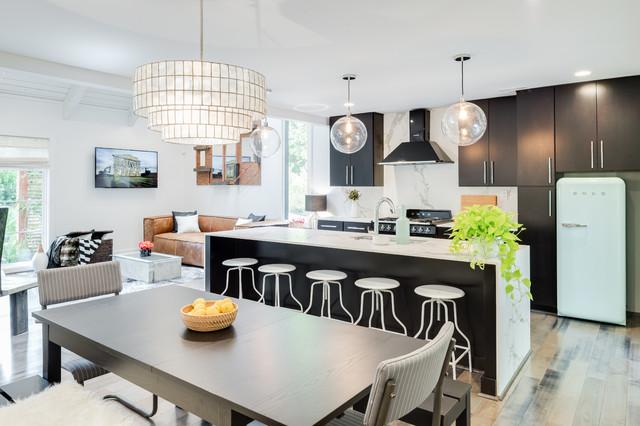 Kitchens contemporary kitchen atlanta by green basements