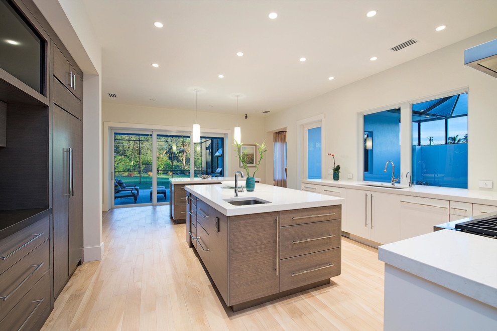 Kitchens in Naples, Florida - Contemporary - Kitchen ...