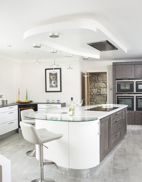 Kitchens International Contemporary Kitchen Glasgow By Neale Smith Photography