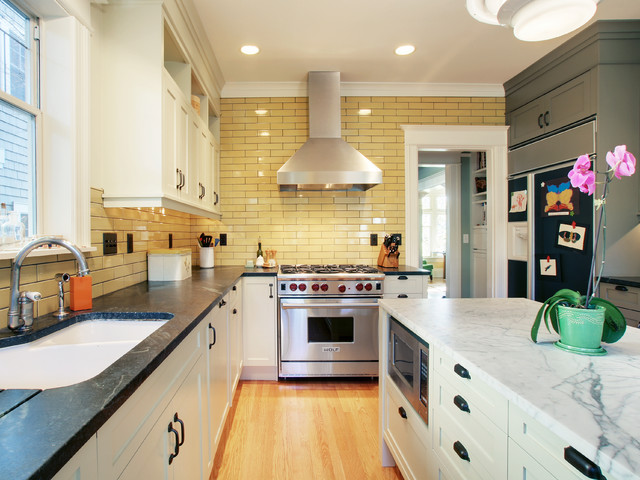 Kitchens traditional kitchen seattle by j a s design build - Kitchen designers seattle ...