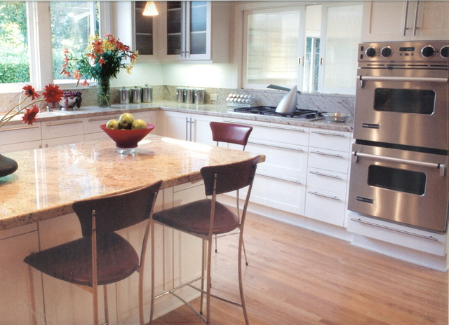 Kitchens contemporary kitchen los angeles by joani for Contemporary kitchen cabinets los angeles