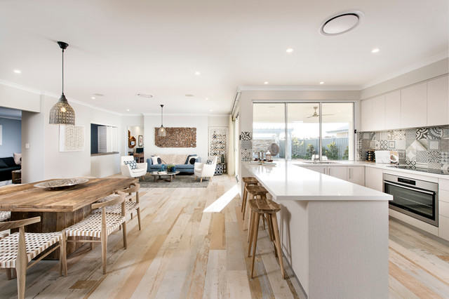 Kitchens - Scandinavian - Kitchen - Perth - by Jodie Cooper Design