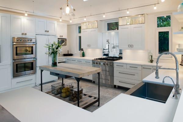 Merit Kitchens Cherry Cabinets