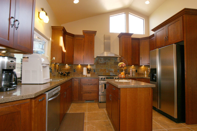 Kitchens traditional kitchen other metro by for Bath remodel modesto ca