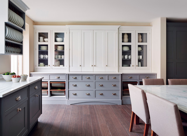 Kitchens kitchen london by mylands for Catalyzed paint for kitchen cabinets