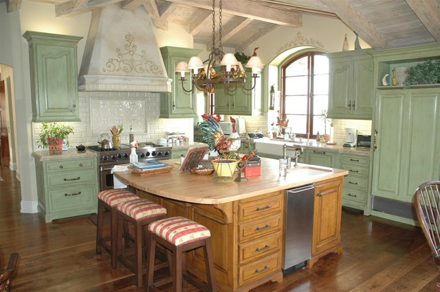 Kitchens of The French Tradition traditional-kitchen
