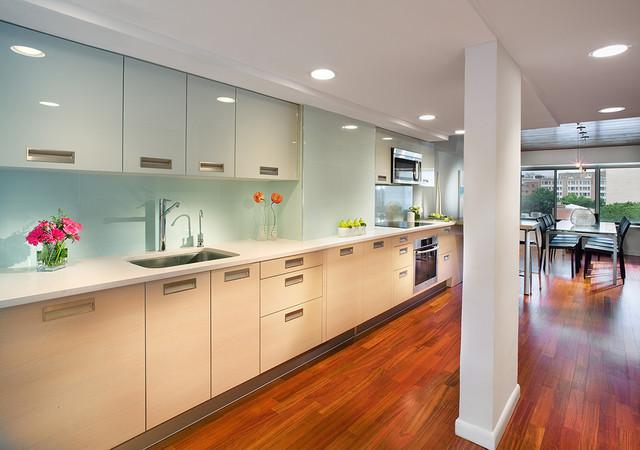 Kitchens contempor neo cocina nueva york de for Azulejos cocina porcelanosa