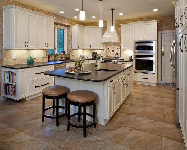 Kitchens transitional kitchen raleigh by quality for Kitchen design raleigh