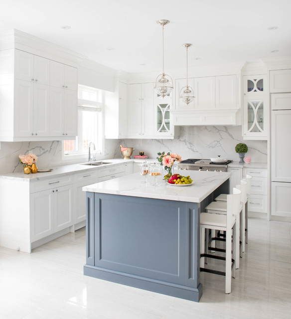 Kitchens - Transitional - Kitchen - Toronto - by Quartex Surfaces Inc.