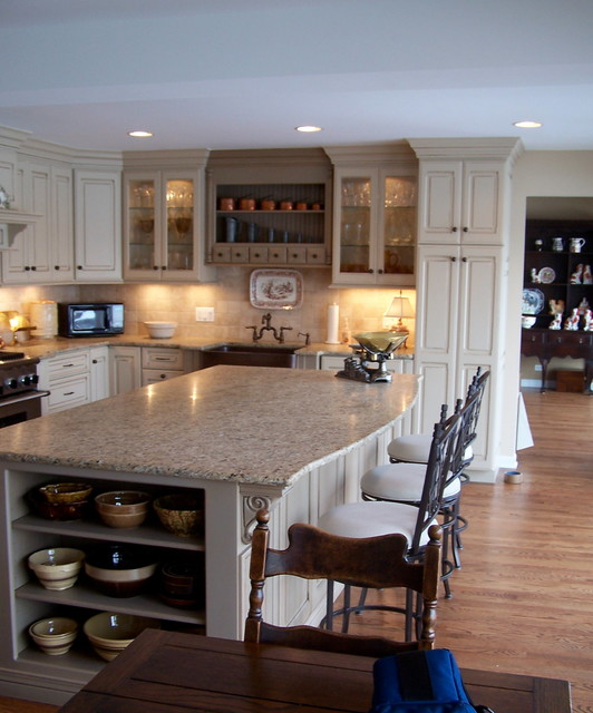 Kitchens Remodeled / Expanded traditional kitchen