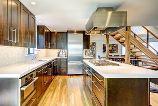 modern kitchen cabinets seattle kitchens contemporary kitchen seattle by sawhorse 7666