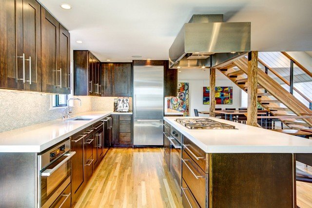 Kitchens Contemporary Kitchen Seattle By Sawhorse Design Build
