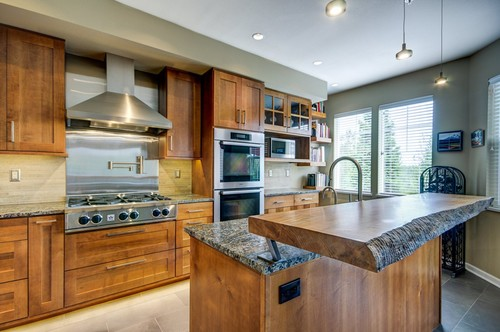 Love the raised breakfast bar what kind of hardware did you use