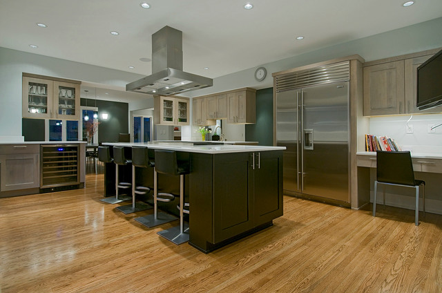 Kitchens contemporary kitchen seattle by for Modern kitchen cabinets seattle
