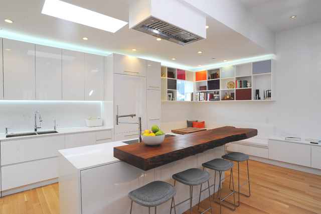 Kitchens contemporary kitchen san francisco by sf for Houzz contemporary kitchens