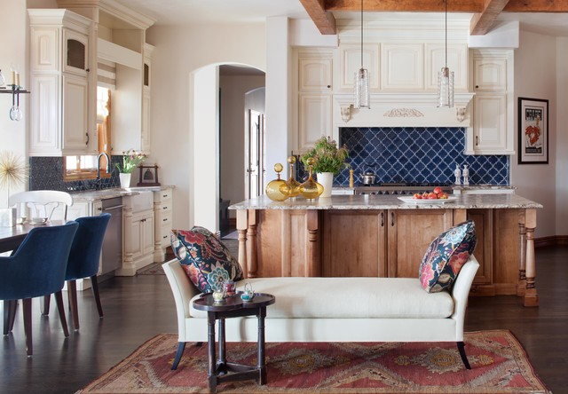 Blue Backsplash | Houzz