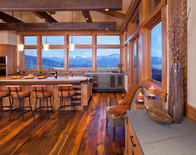 Kitchens Rustic Kitchen Denver By Vaussa