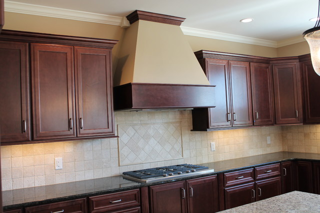 Kitchens With Stains And Glazes Traditional Kitchen Cincinnati By Mauk Cabinets By Design