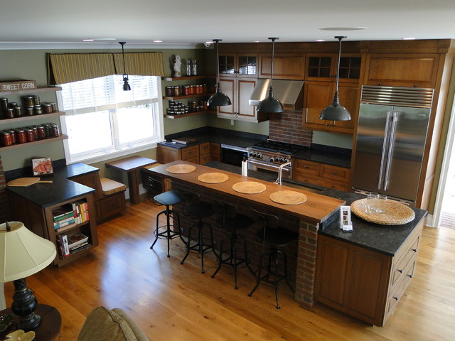 Traditional Kitchen Other Metro By Zarrillo 39 S Custom Design
