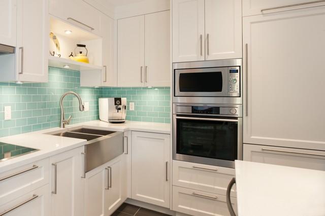 Kits kitchen renovation modern kitchen vancouver by troico