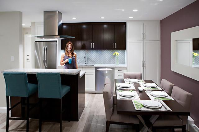 Kitsilano Apartment Modern Kitchen Vancouver By Madeleine Schmidt Design