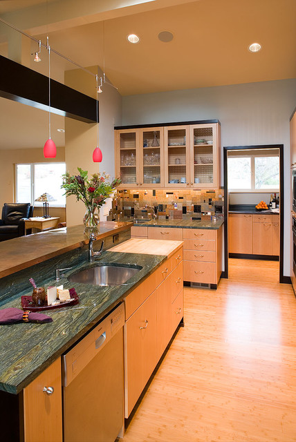 Klimpt Inspired kitchen contemporary-kitchen