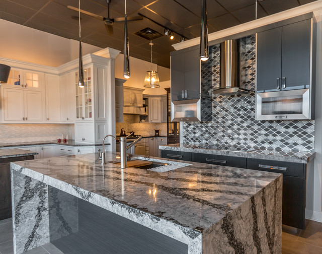 KLM Kitchens Baths And Floors Showroom Contemporary Kitchen Chicago