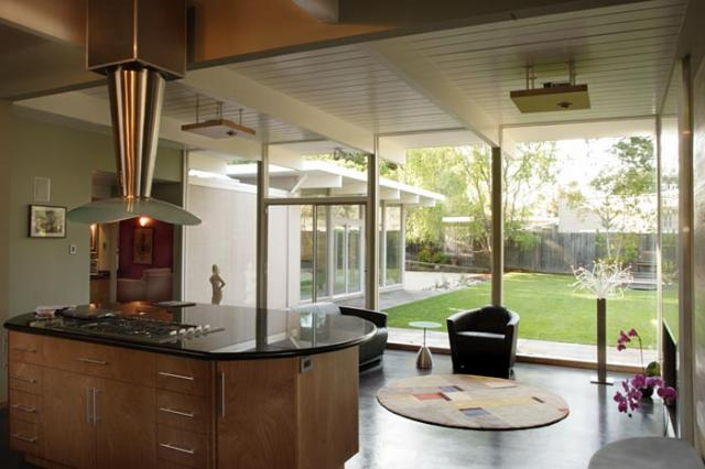 Klopf Architecture - Added Wing midcentury-kitchen